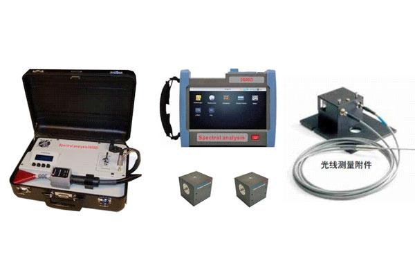 Spectral analysis3600A 建筑节能玻璃遮阳、Low-E传热系数综合评估系统(便携型)